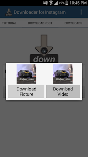Cara Download Video Instagram di Android