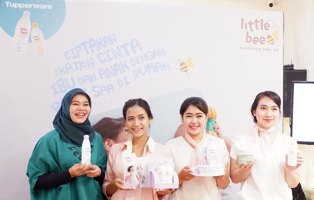 peluncuran tupperware little bee