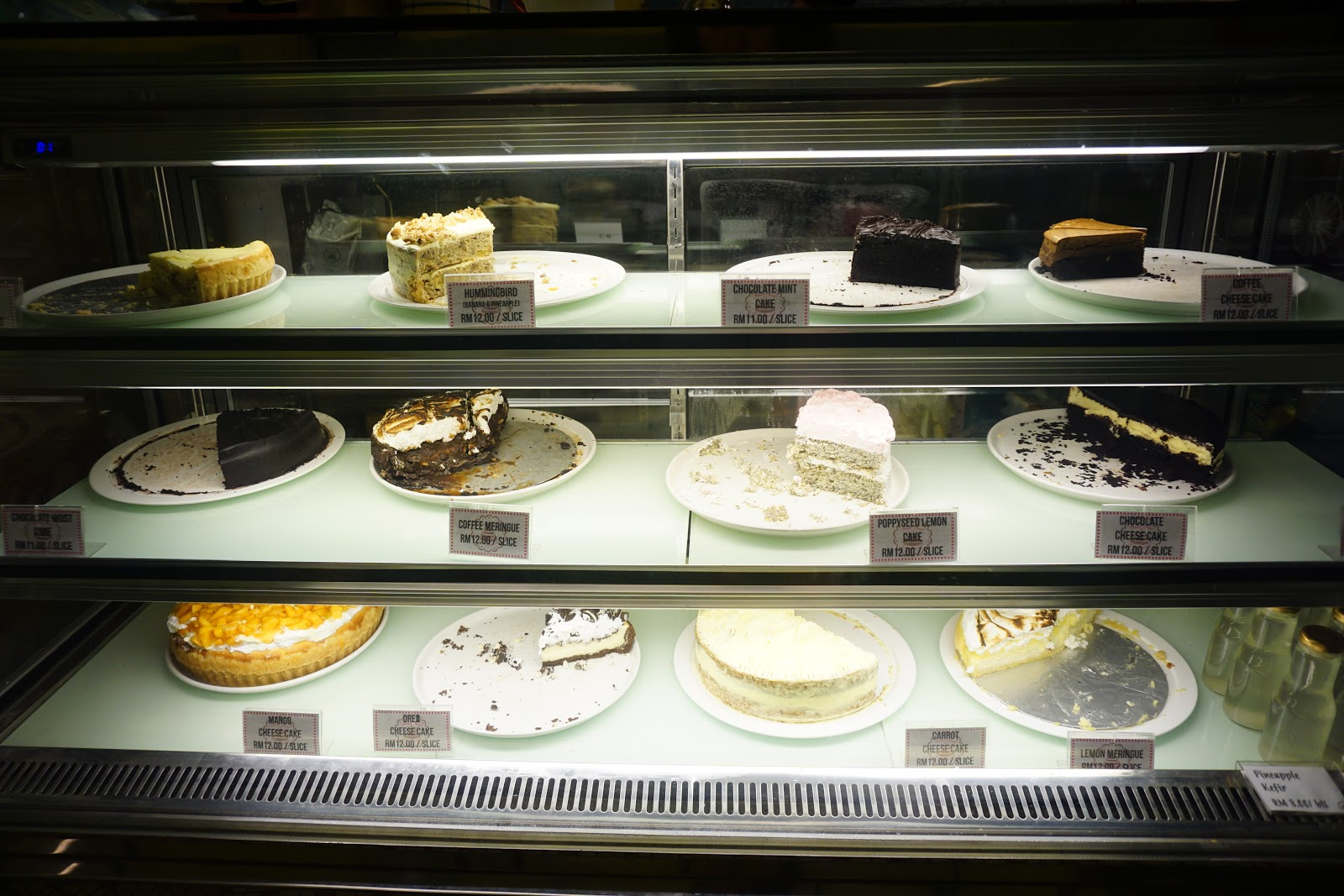 Passion Heart Cafe at Muntri Street Georgetown, Penang for homemade cakes.
