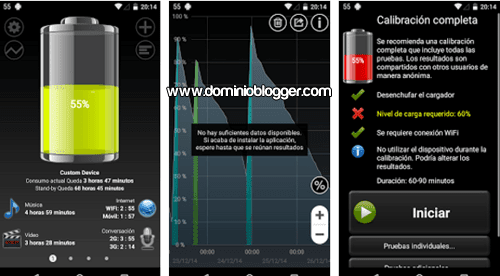 Battery HD gratis para Android