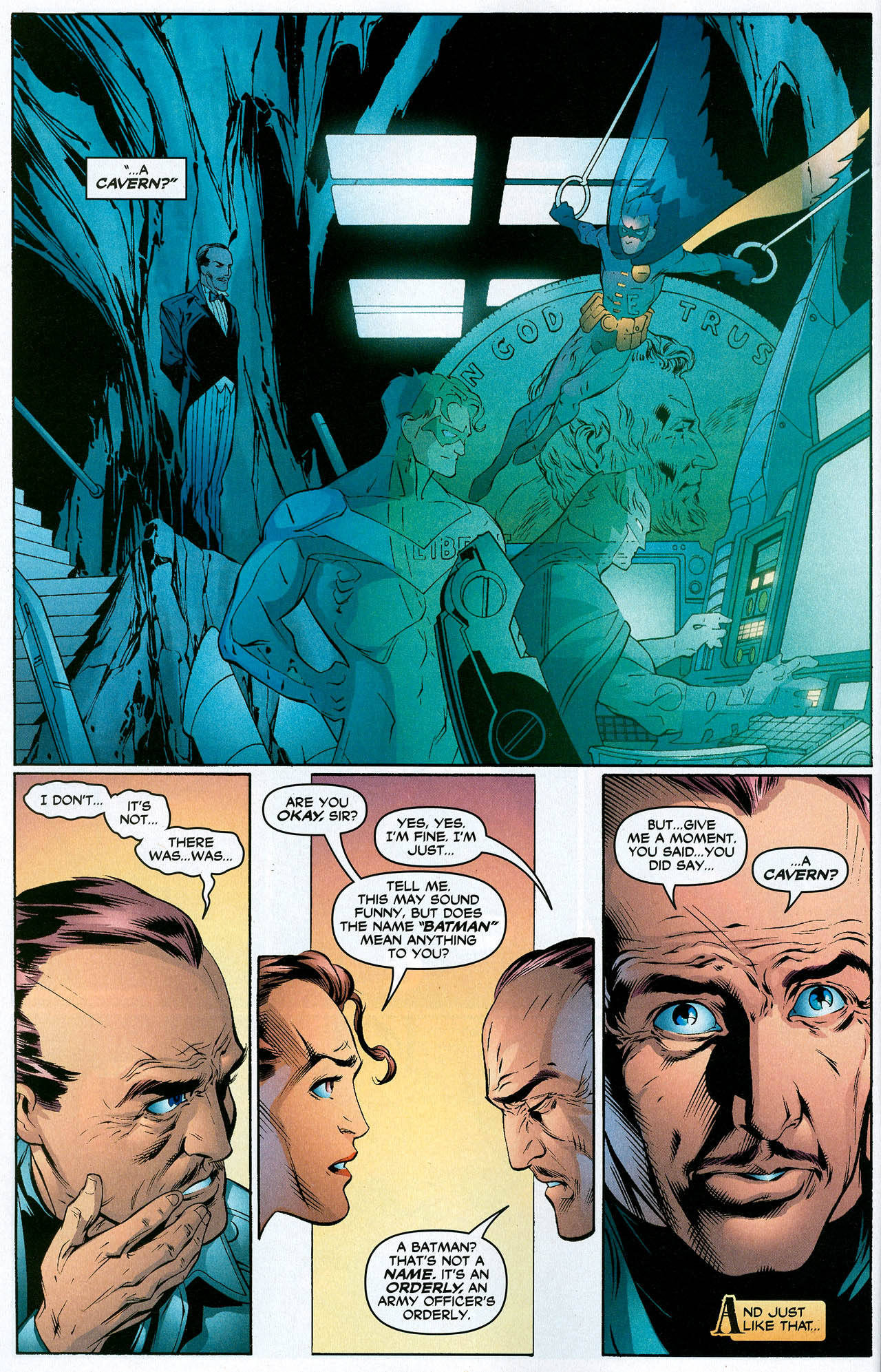 Read online Trinity (2008) comic -  Issue #19 - 16