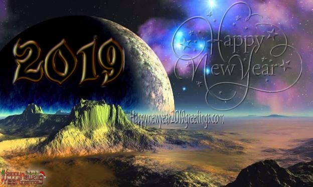 2019 New Year Full HD Wishes Pics