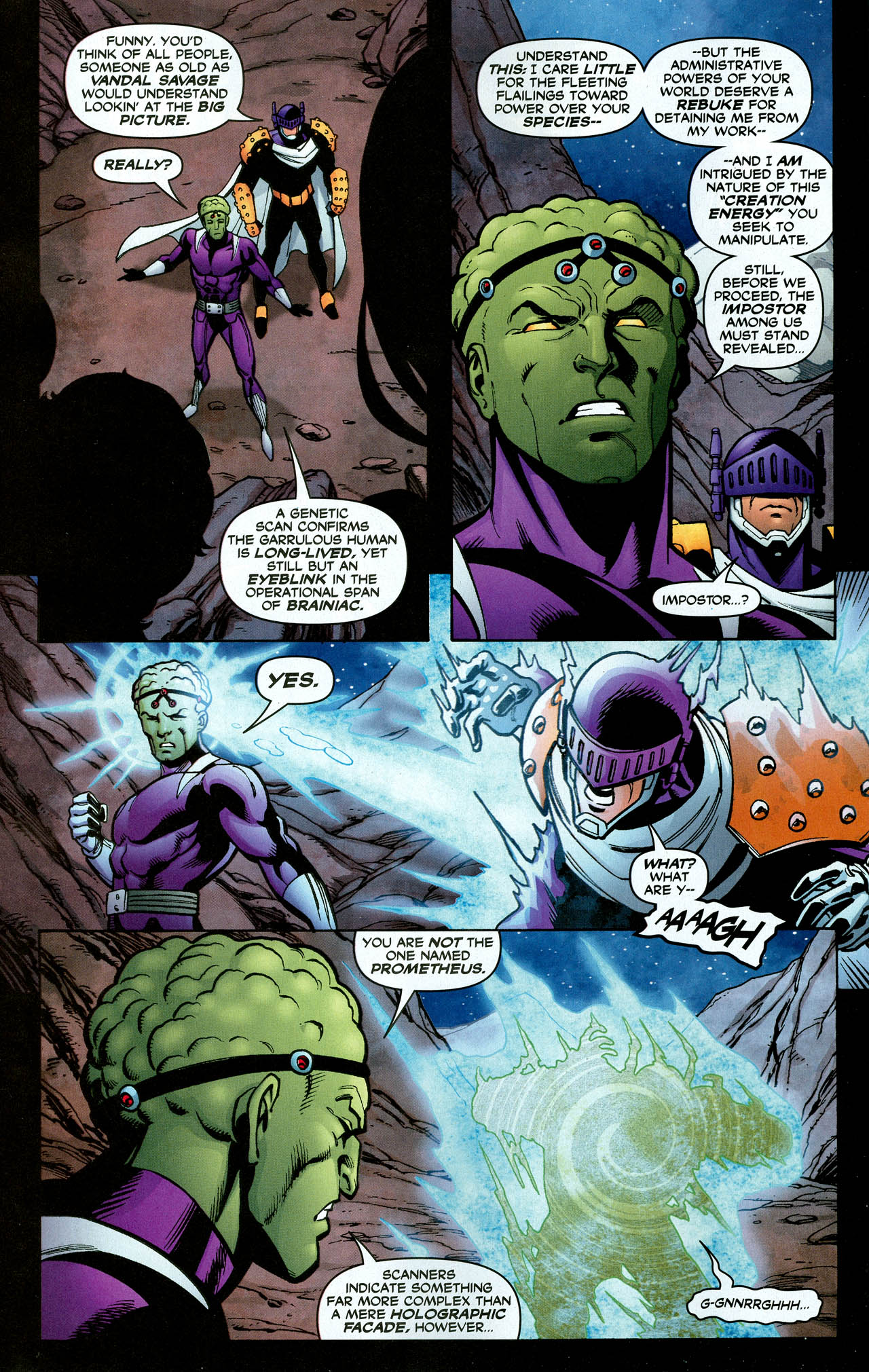 Read online Trinity (2008) comic -  Issue #30 - 21