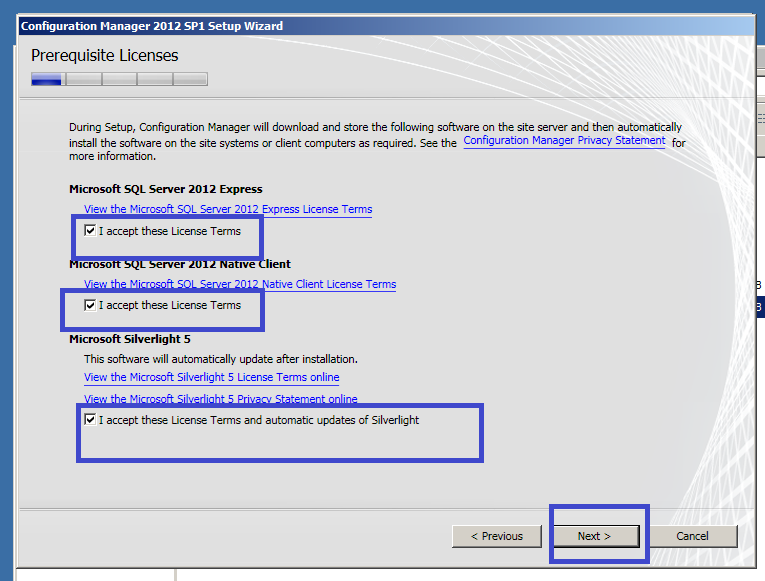 SCCM 2012 Site Server Installation-Primary Stand alone