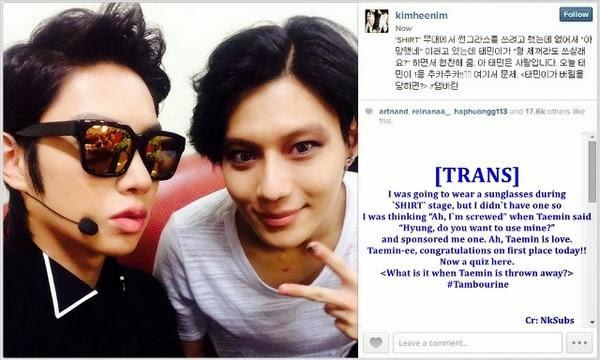 MYShawols (MSW): [PHOTO/TRANS] 140829 Taemin in Super ...
