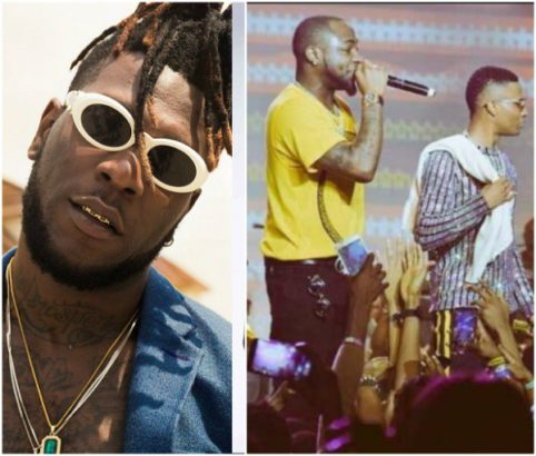 Between Burna Boy And His Twitter User Followers Over Wizkid And Davido's Performance