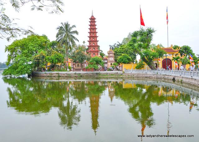 Tran Quoc Pagoda Hanoi