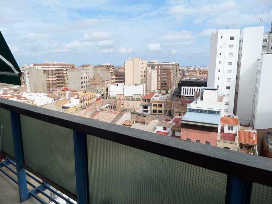 piso en venta castellon plaza la paz terraza