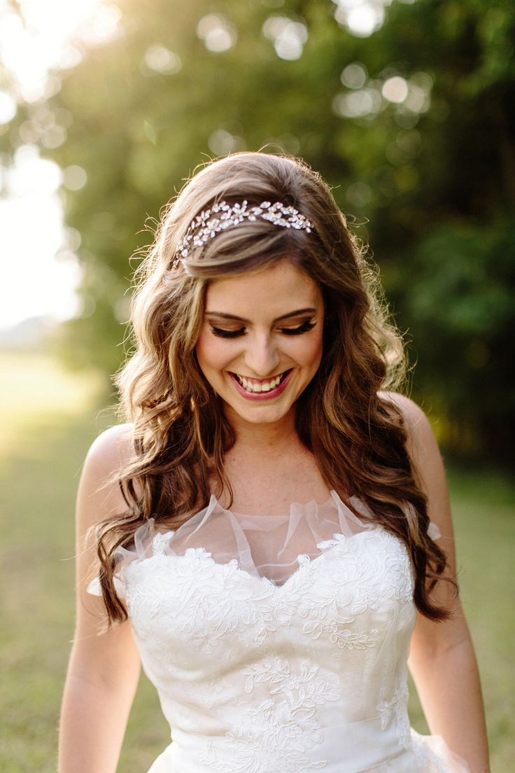 bridal hairstyles with tiara | midway media
