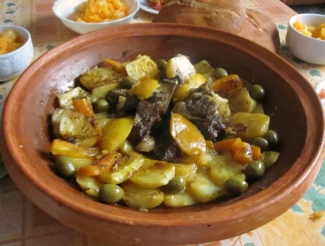 Moroccan Meat and Potato Tagine