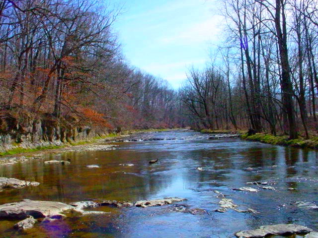 Fall Fork of Clifty Creek in Bartholomew County
