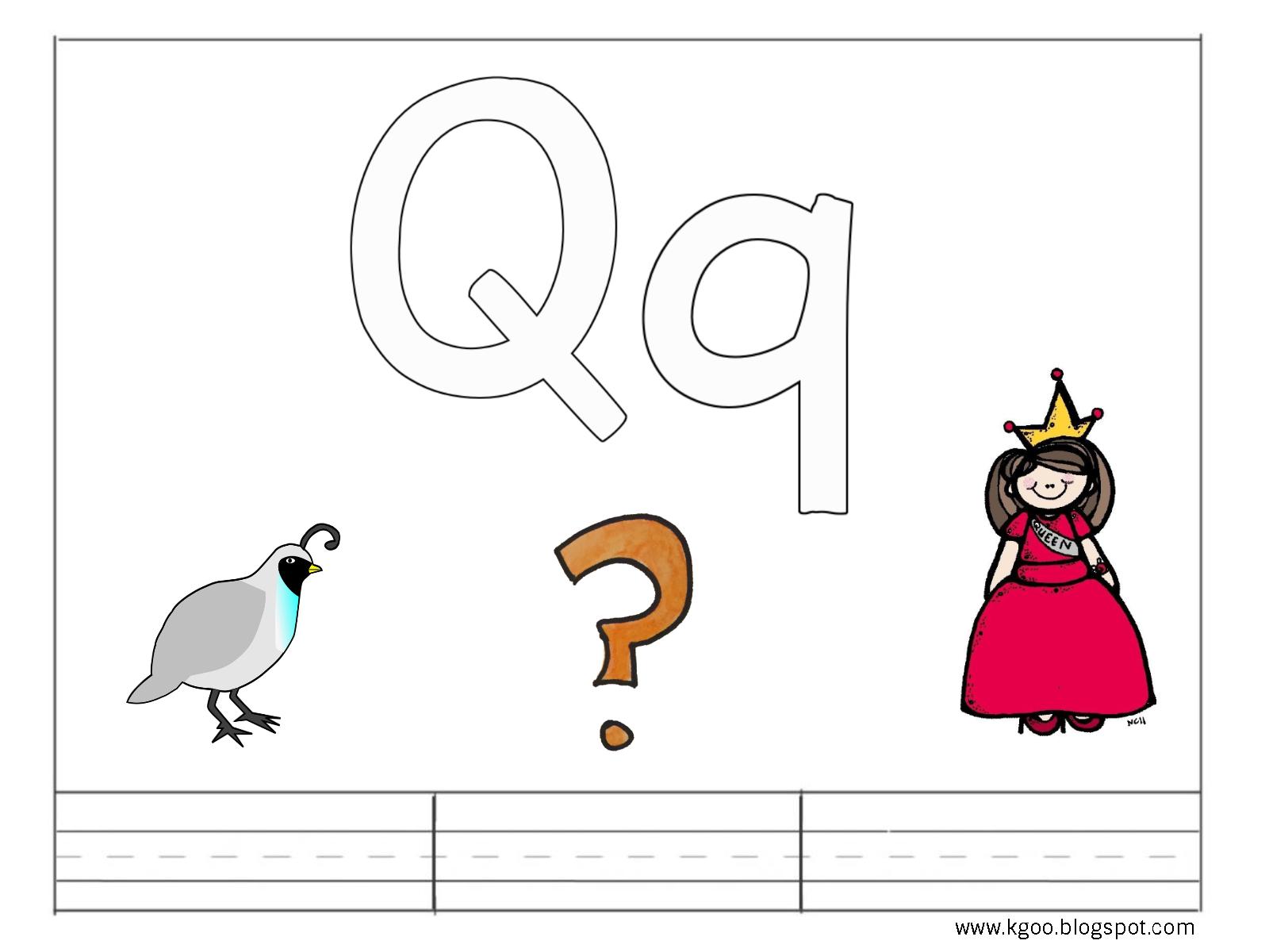 Counting X besides V Is For Volcano Printable X besides Qqscan moreover Inside Preschool Letter Worksheets Letter K moreover Qq. on q queen letter printables