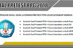 Download Latihan Soal-Soal Pretest PPG 2018