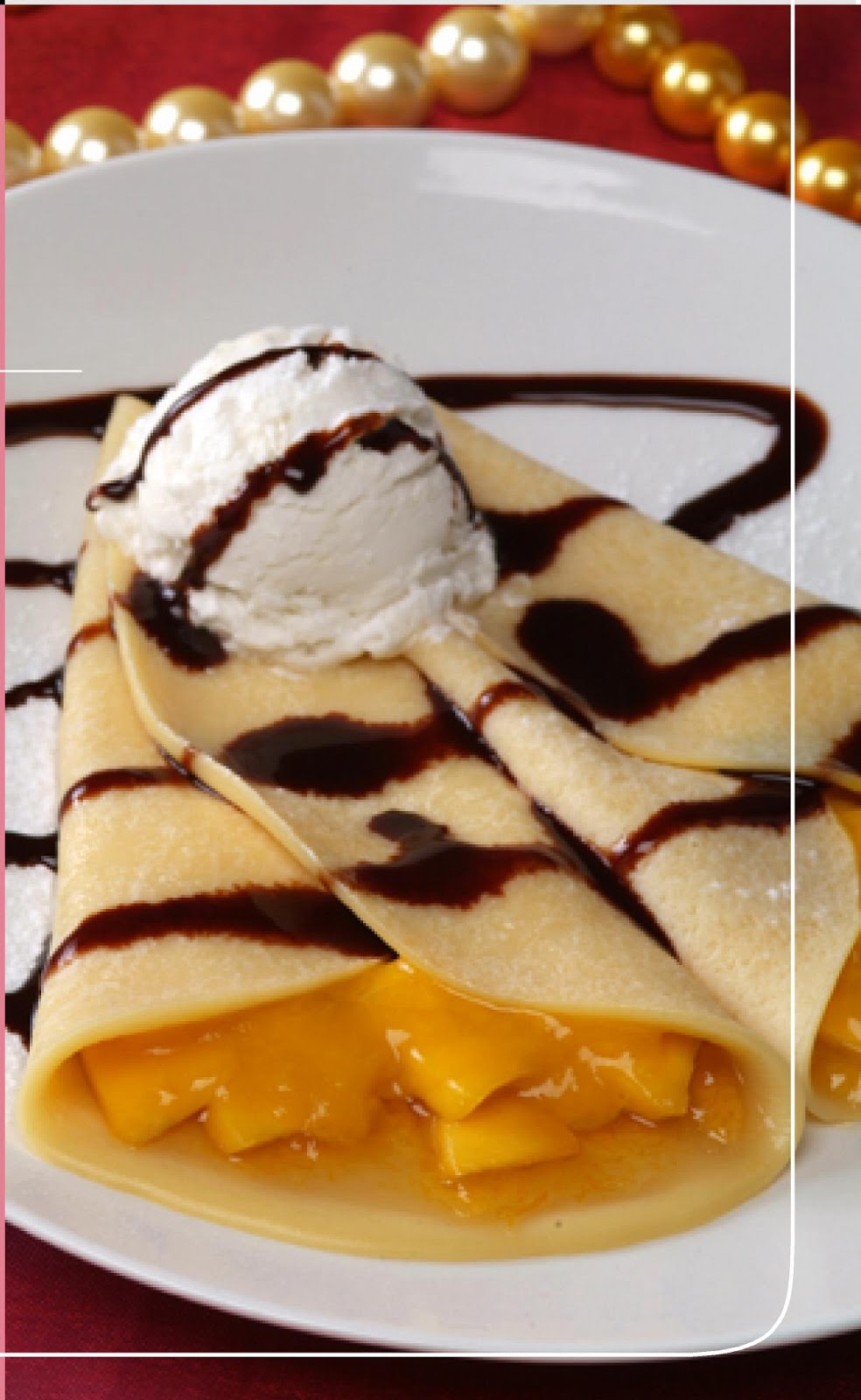 Crepe With Cherry And Sour Cream Yummy ⋆ Instyle Fashion One