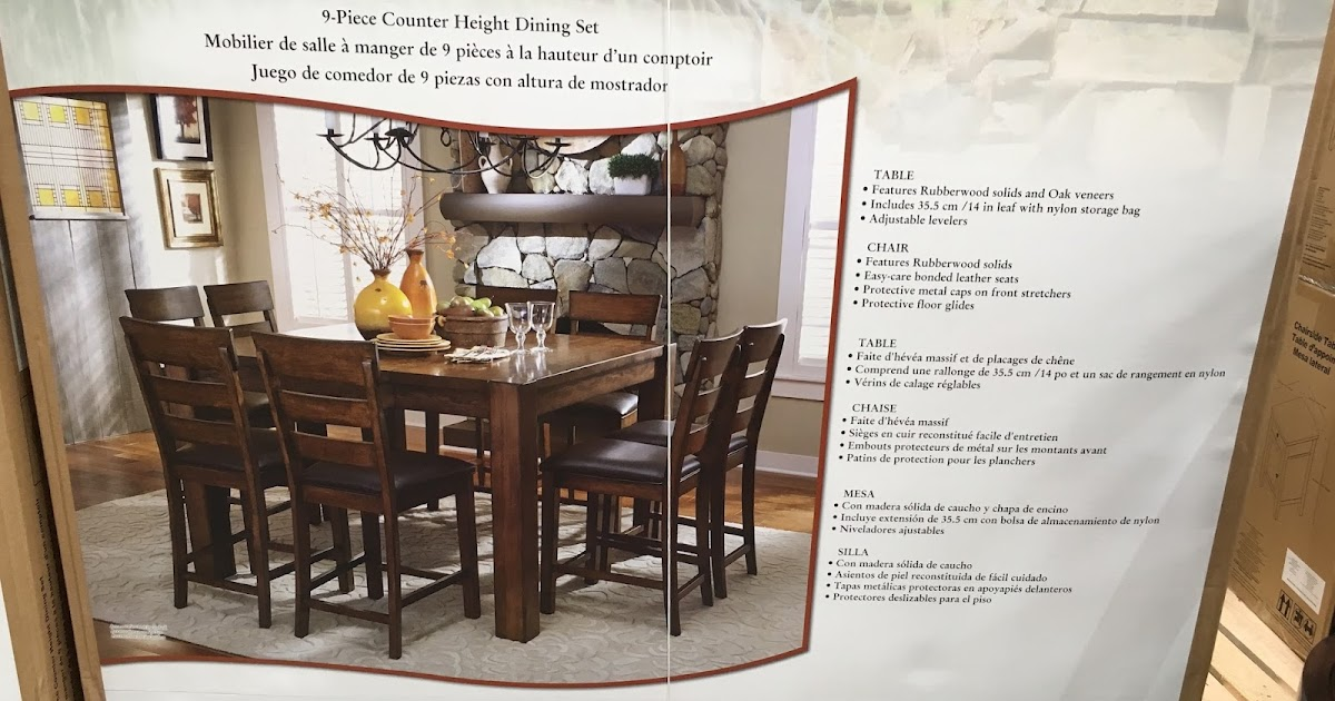 room sets ashley furniture likewise dining room table sets costco