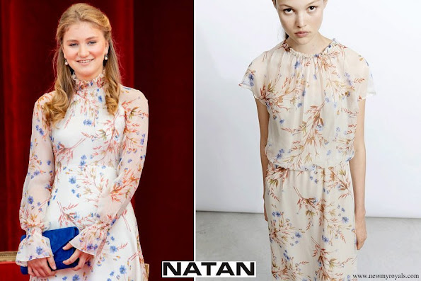 Crown Princess Elisabeth wore Natan dress