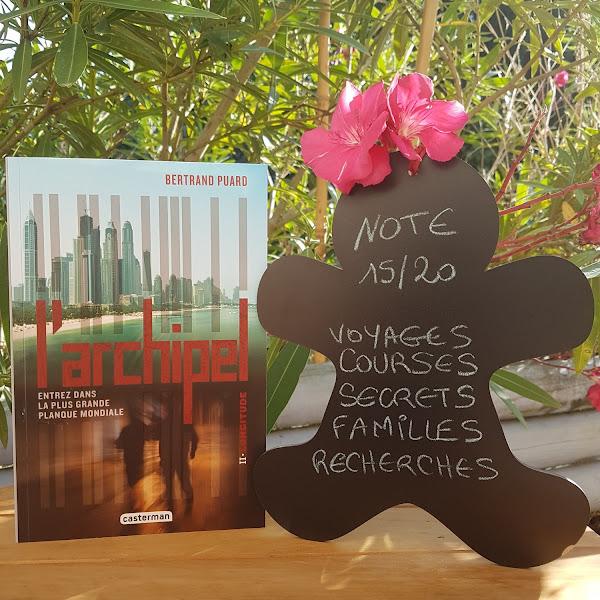 L'archipel, tome 2 : Longitude de Bertrand Puard