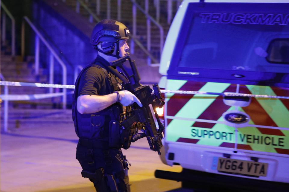 Bomb explosion in Manchester Arena