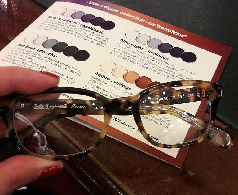 Mes nouvelles lunettes avec des verres Transitions - La Parisienne ... eb022d103d8f