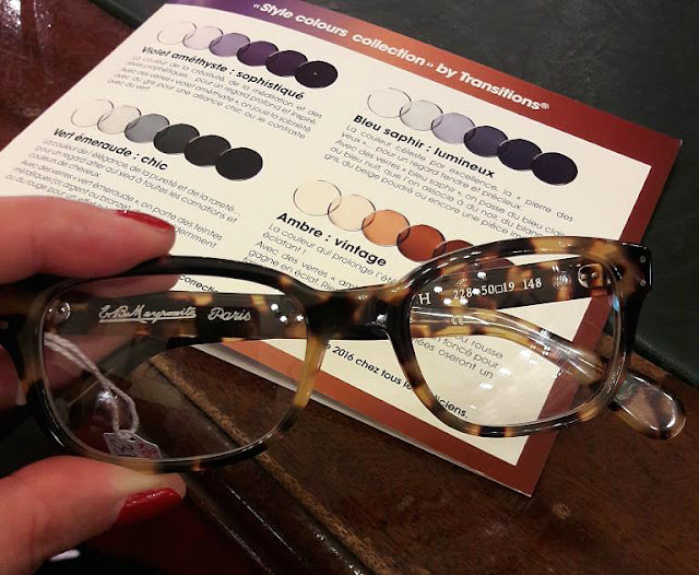 Verres transitions lunettes opticien Meyrowitz style colours collection