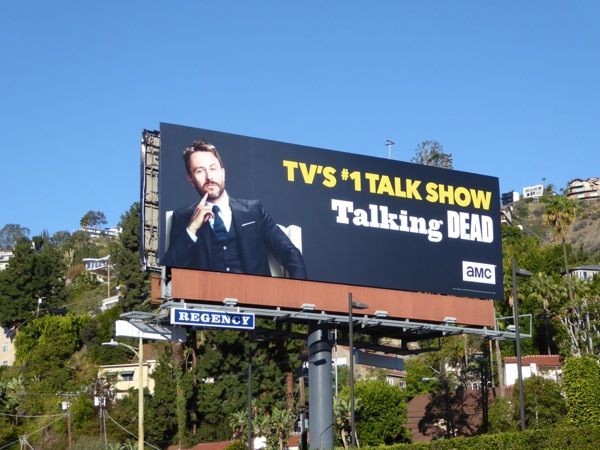 Talking Dead 2016 billboard