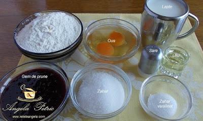 Preparare clatite cu gem - etapa 1