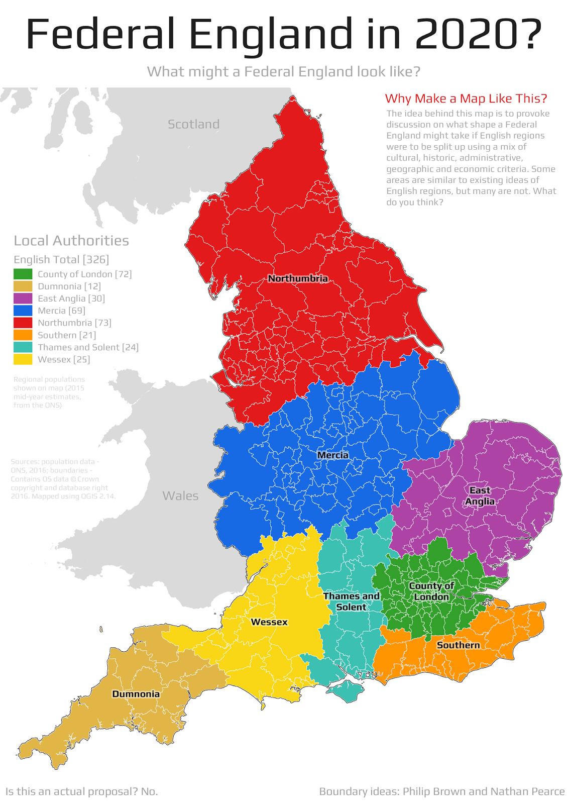 Stats maps n pix the 8 english regions of a federal uk read the rest of the post for the full story sciox Images
