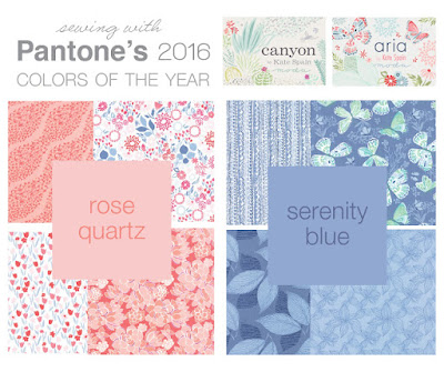 Pantone 2016 Colours of the Year Inspiration For Bag Makers
