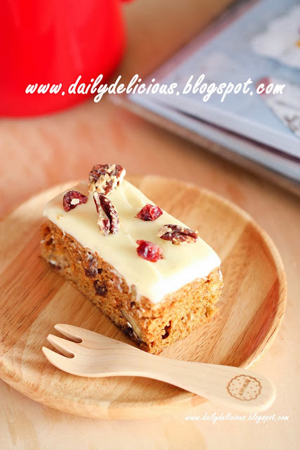 Dailydelicious Low Fat Carrot Cake Delicious Carrot Cake