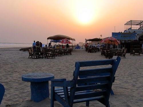 The Republic of Ghana Labadi beach