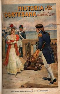 "Historia de una Cortesana ""Souvenirs d'une favorite"" 1865"