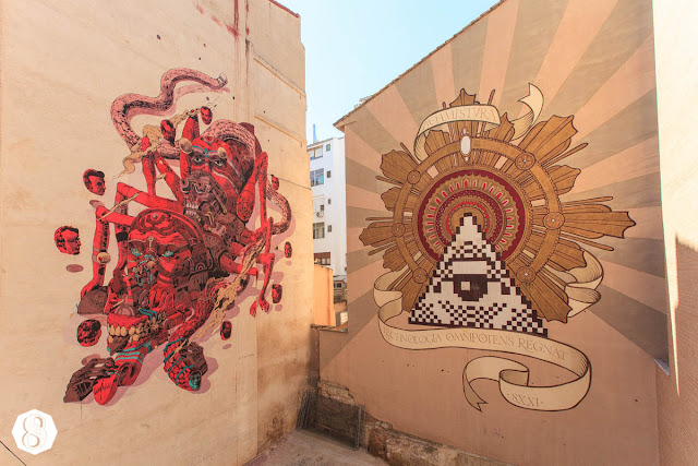 Street Art By Mexican Artist Smithe In Spain For Asalto Urban Art Festival 2013. 2