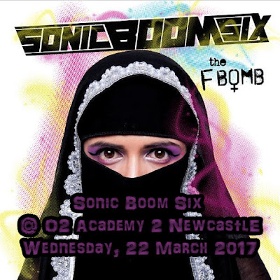 #ska #punk #grime with a bit of #pop @SonicBoomSix are @o2academynewc 22.3
