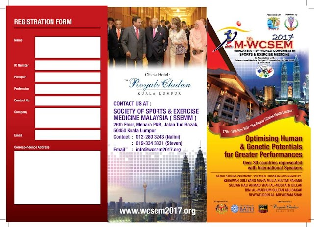 Malaysia to host sports medicine congress