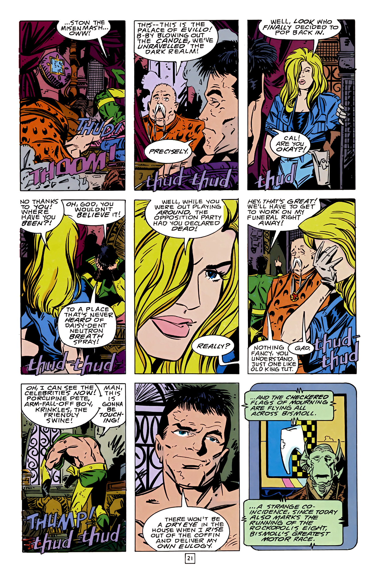 Legion of Super-Heroes (1989) 14 Page 21