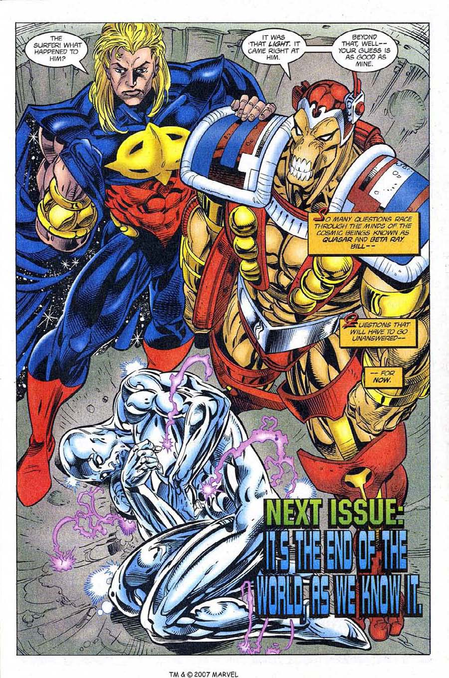 Read online Silver Surfer (1987) comic -  Issue #121 - 33