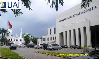 Daftar Fakultas dan Jurusan UAI Universitas Al-Azhar Indonesia, Jakarta