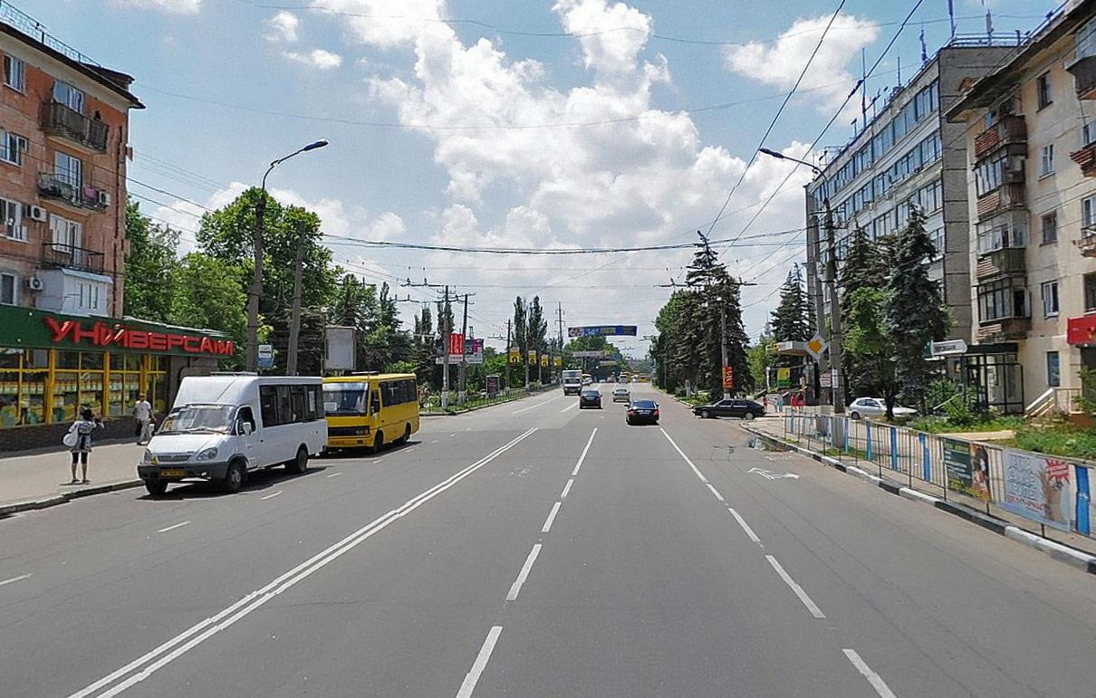 Улица Гагарина в Симферополе
