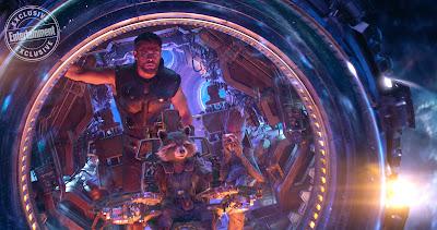 Avengers Infinity War Thor Odinson Rocket Raccoon Groot