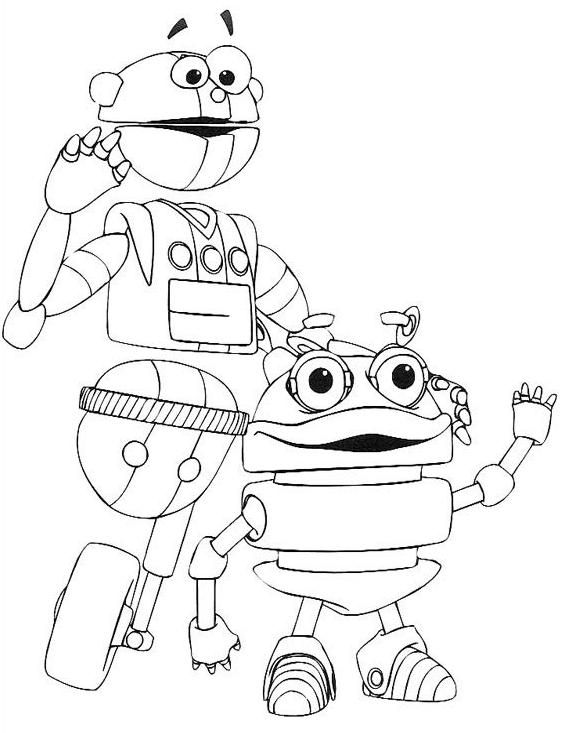Desenhos De Robos Para Colorir Atividades Pedagogicas