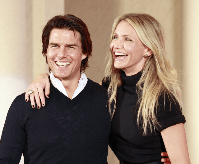Cameron Diaz Hollywood Actress with Tom Cruise HD Wallpapers Photo Images
