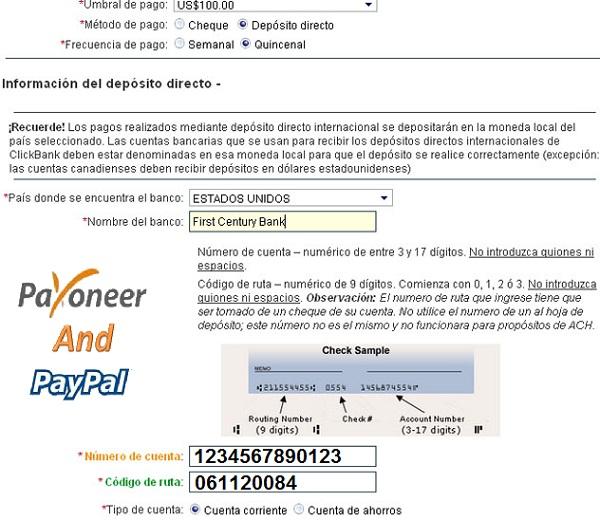 Payoneerandpaypal tarjeta payoneer