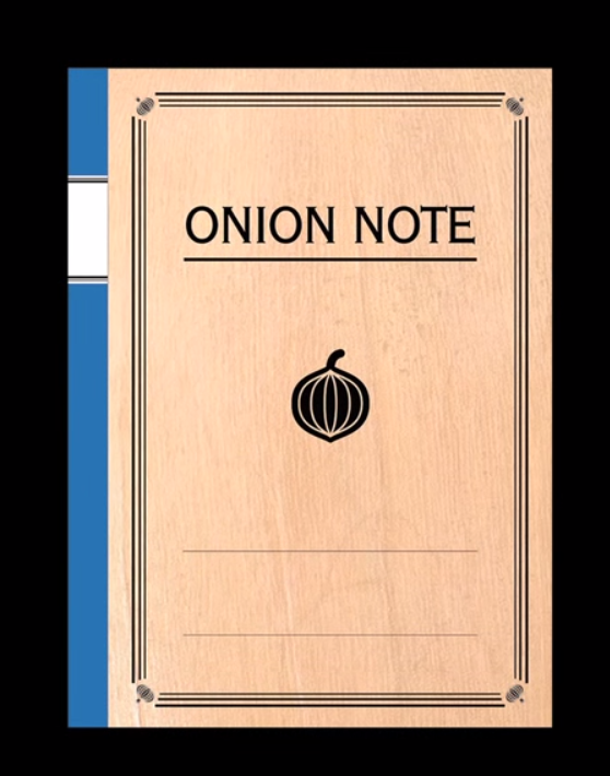 Onion Note vi farà piangere