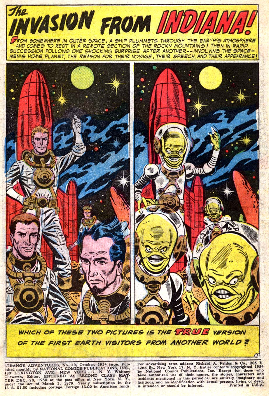 Strange Adventures (1950) issue 49 - Page 3