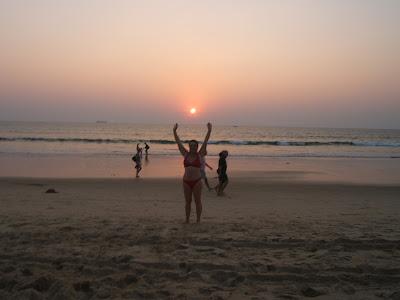 закат на Аравийском море