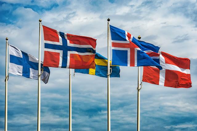 Icelandic and Scandinavian Flags