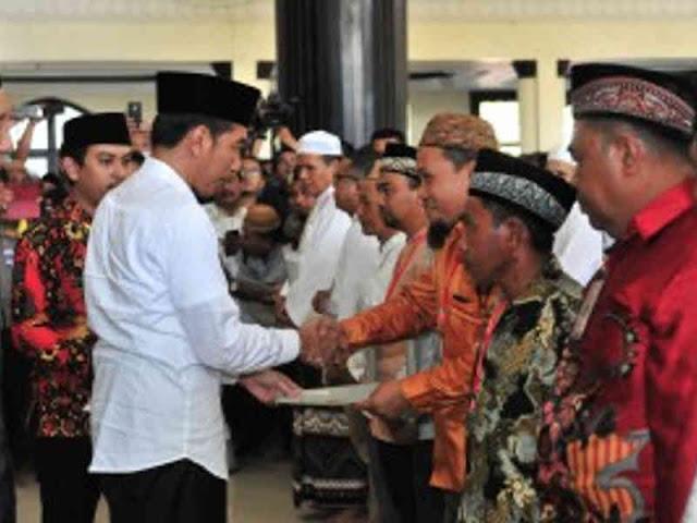 Jokowi Ungkap 77 Juta Bidang Tanah Belum Disertifikatkan
