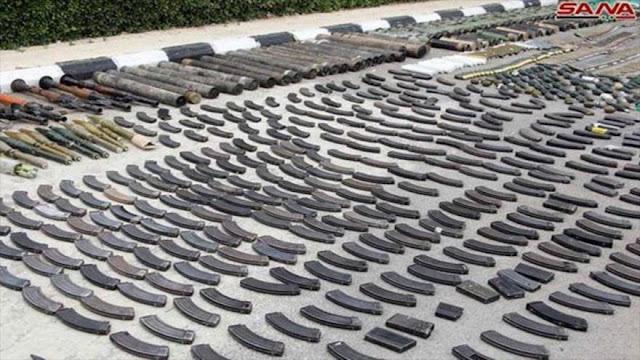 Rebeldes entregan armas israelíes a Siria antes de dejar Damasco
