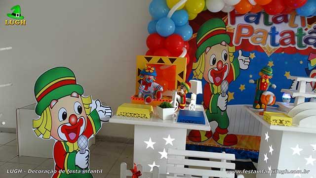 Mesa de aniversário Patati Patatá provençal - Festa infantil