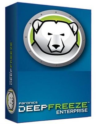Faronics Deep Freeze Enterprise 8.38.220.5256 poster box cover